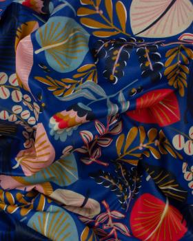 Coton Enduit Kohpical Bleu - Tissushop