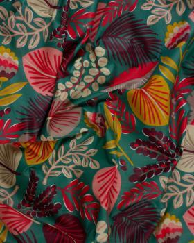 Coton Enduit Kohpical Vert - Tissushop