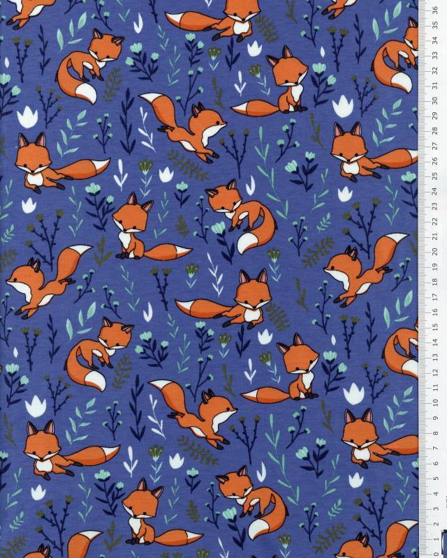 Jersey fox Blue - Tissushop