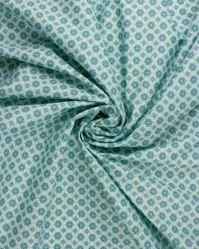 Cotton poplin - Vitrax Blue Cloud - Tissushop