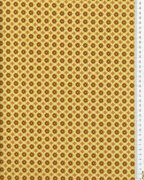 Popeline de coton - Vitrax Moutarde - Tissushop