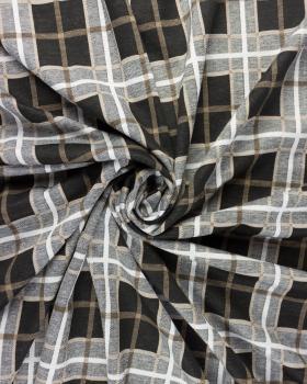 Checkered mesh Beige - Tissushop