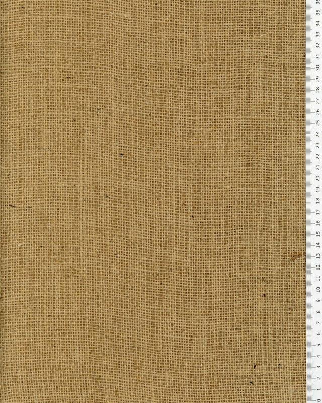 Chemin de table en jute - 260 gr/m² - 40 cm - naturel - Tissushop