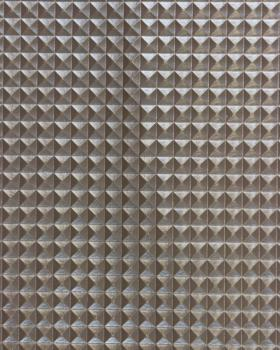 Simili Cuir pyramide Argent - Tissushop