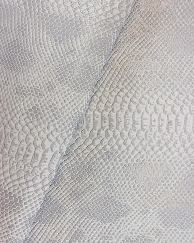 Shiny imitation dragon Ivory - Tissushop