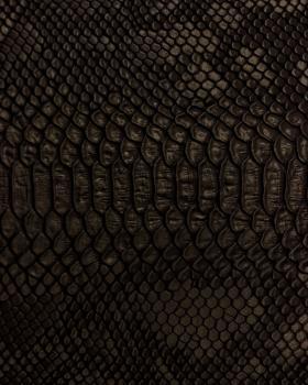 Simili Cuir dragon Noir - Tissushop
