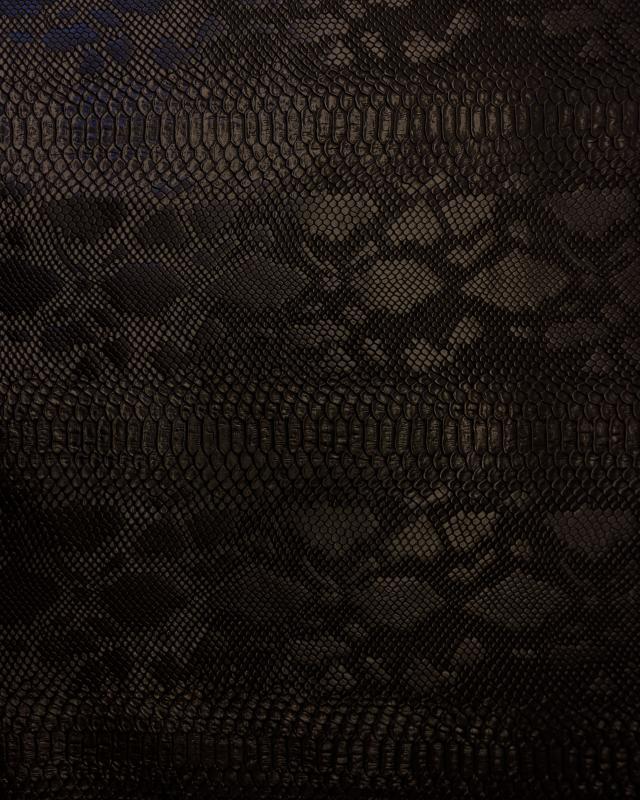 Shiny imitation dragon Black - Tissushop