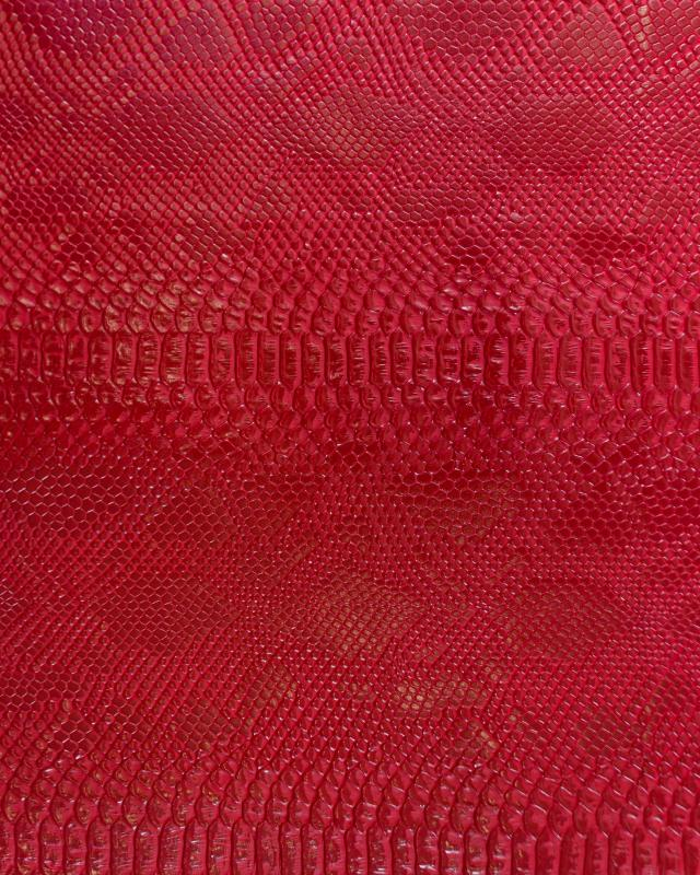 Shiny imitation dragon Red - Tissushop