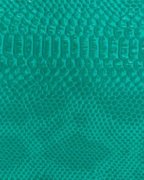 Simili Cuir dragon Vert - Tissushop