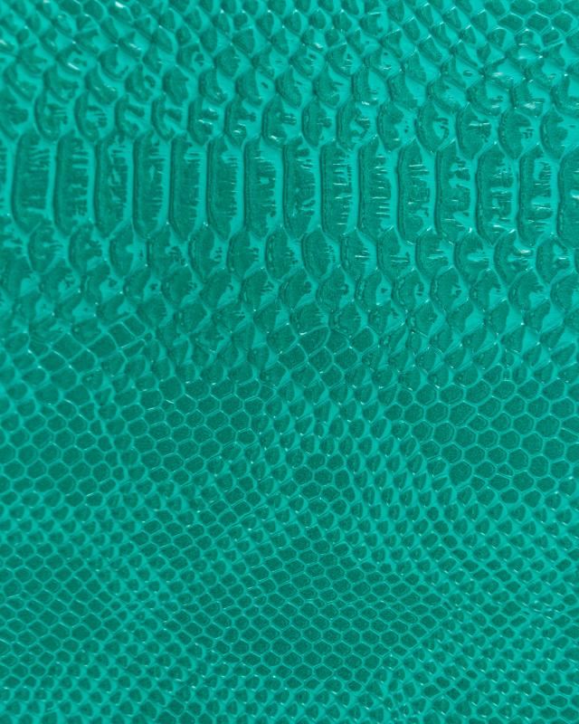 Shiny imitation dragon Green - Tissushop