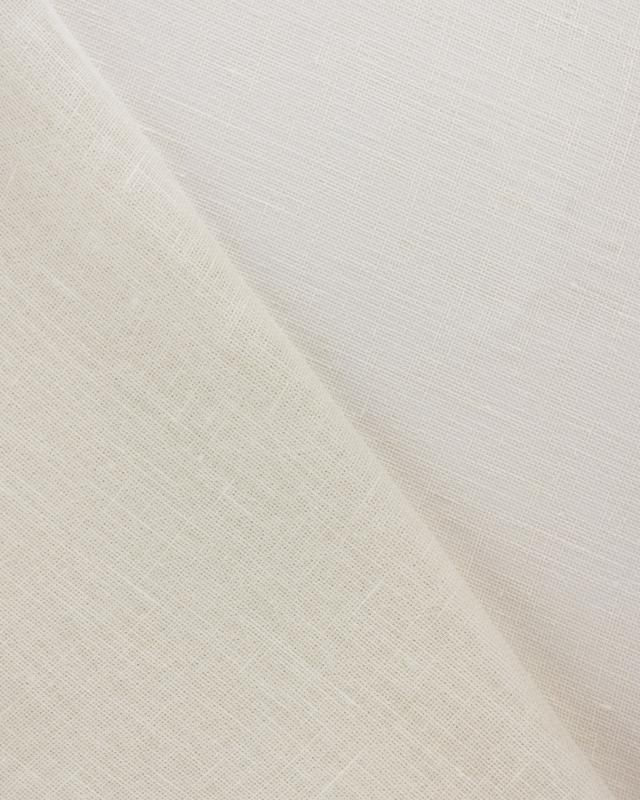Linen gauze in 145 cm Off White - Tissushop