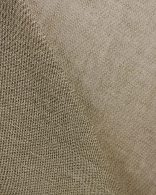 Linen gauze in 145 cm Natural - Tissushop