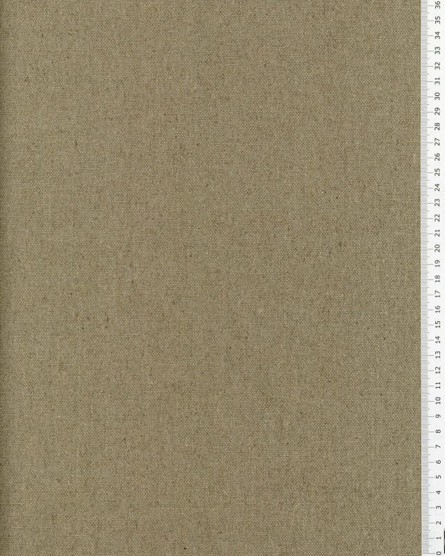 Bachette de lin naturel en 150 cm Naturel - Tissushop