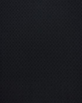 Popeline de coton ajourée Noir - Tissushop