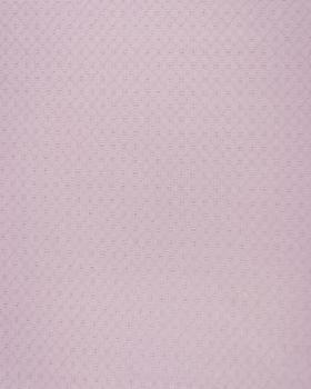Popeline de coton ajourée Rose Poudré - Tissushop