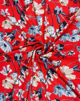 Poppy jersey Vermillon - Tissushop