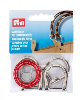 Bag handle loops Prym Silver - Tissushop