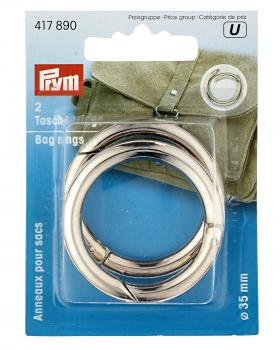 Bag rings 30mm Prym Silver - Tissushop