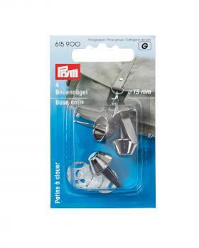 Base nails 15mm Prym Silver - Tissushop