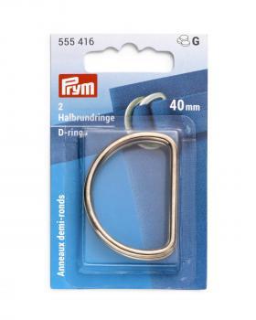 D-rings 40 mm Prym Gold - Tissushop