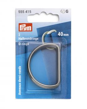 D-rings 40 mm Prym Metal - Tissushop