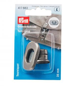 Rounded turn clasp 35 mm Prym Metal - Tissushop