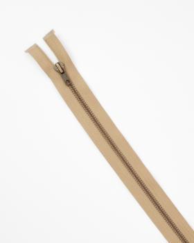 Separable metal zip Prym Z19 60cm Beige - Tissushop
