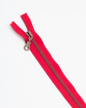 Separable metal zip Prym Z19 75cm Red - Tissushop