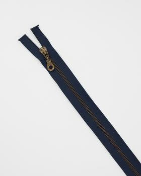 Separable metal zip Prym Z19 75cm Navy Blue - Tissushop