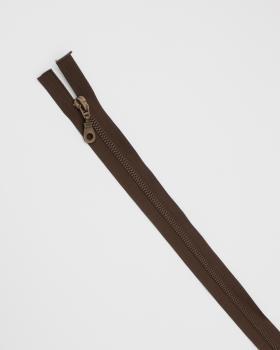 Separable metal zip Prym Z19 75cm Dark Brown - Tissushop