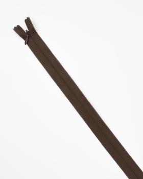Invisible inseparable zip Prym Z41 60cm Dark Brown - Tissushop