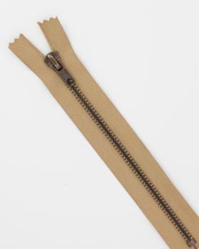 Prym Z14 inseparable metal zip 10cm Beige - Tissushop