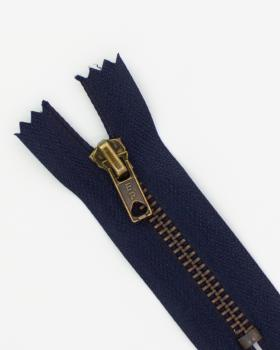 Prym Z14 inseparable metal zip 10cm Navy Blue - Tissushop