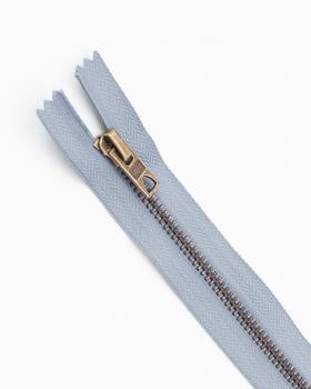 Prym Z14 inseparable metal zip 10cm Grey - Tissushop