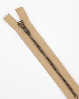 Prym Z14 inseparable metal zip fastener 12cm Beige - Tissushop
