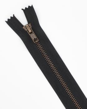 Prym Z14 inseparable metal zip fastener 12cm Black - Tissushop