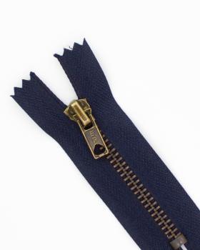 Prym Z14 inseparable metal zip fastener 12cm Navy Blue - Tissushop