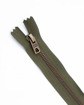 Prym Z14 inseparable metal zip fastener 12cm Khaki - Tissushop