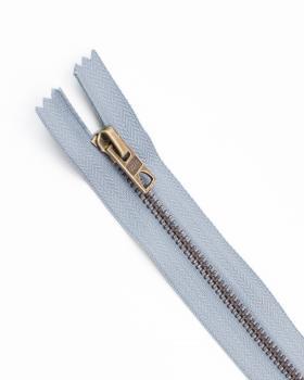 Prym Z14 inseparable metal zip fastener 12cm Grey - Tissushop