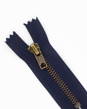Prym metal inseparable zip Z14 8cm Navy Blue - Tissushop