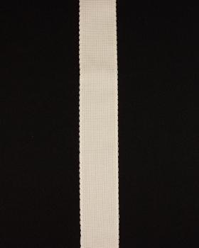 Bande aÏda à broder 50mm Décrué - Tissushop