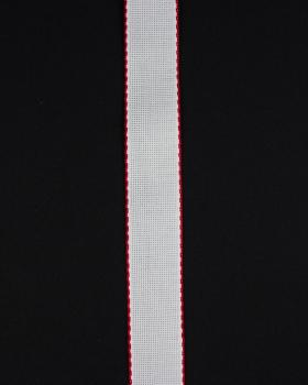 Embroidery aïda tape 50mm Red - Tissushop