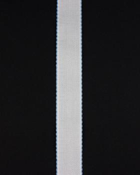 Bande aÏda à broder 50mm Bleu Ciel - Tissushop