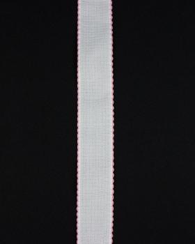 Bande aÏda à broder 50mm Rose Bonbon - Tissushop