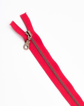 Separable metal zip Prym Z19 25cm Red - Tissushop