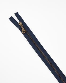 Separable metal zip Prym Z19 80cm Navy Blue - Tissushop