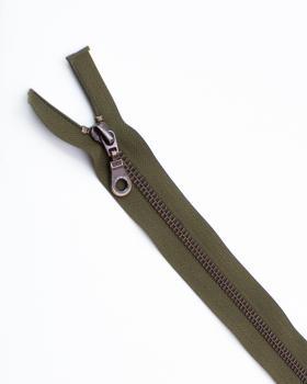 Separable metal zip Prym Z19 80cm Khaki - Tissushop