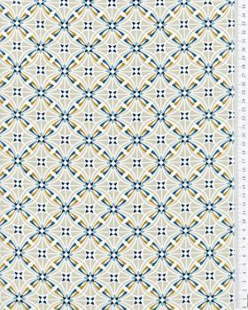 CAPUCINE Coated Cotton Beige - Tissushop