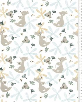 Popeline de coton Bio Lundo Blanc - Tissushop