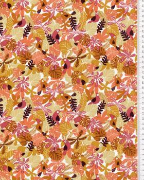 Popeline de coton Tropical - Tissushop